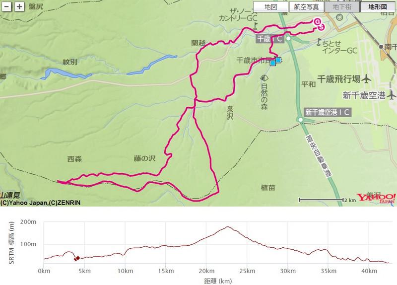 千歳JAL国際マラソン2015