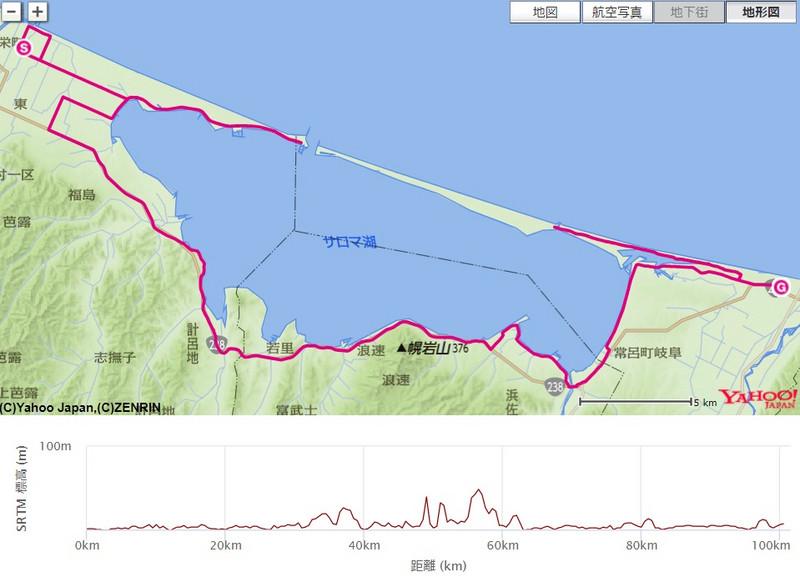 サロマ湖100kmウルトラマラソン2016