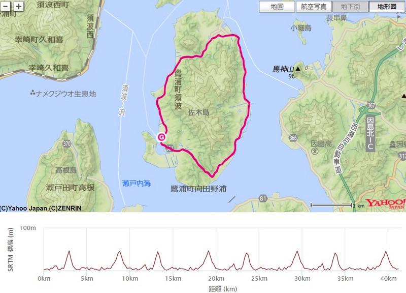 佐木島エコマラソン2016