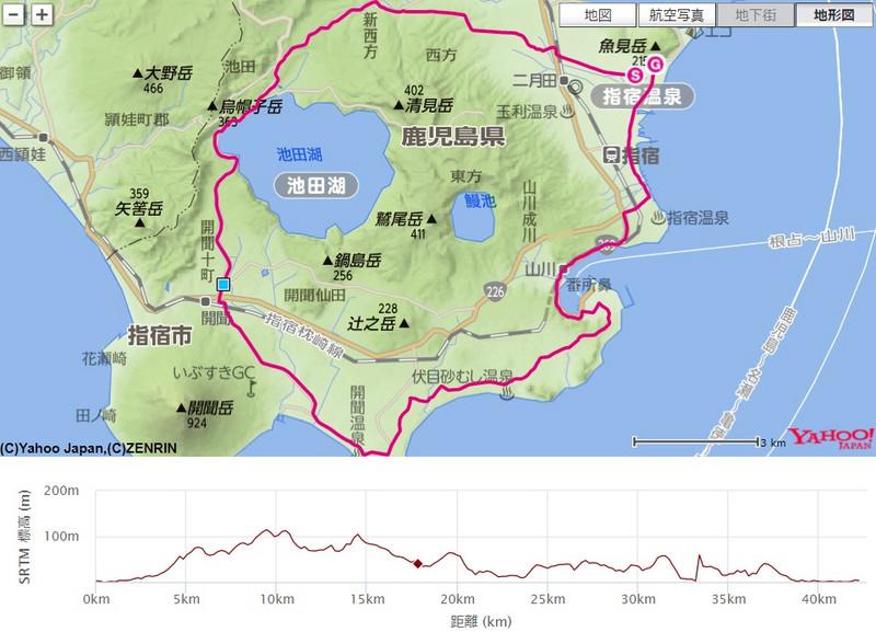 いぶすき菜の花マラソン(鹿児島県、2017年)~開聞岳を眺望しながら走る