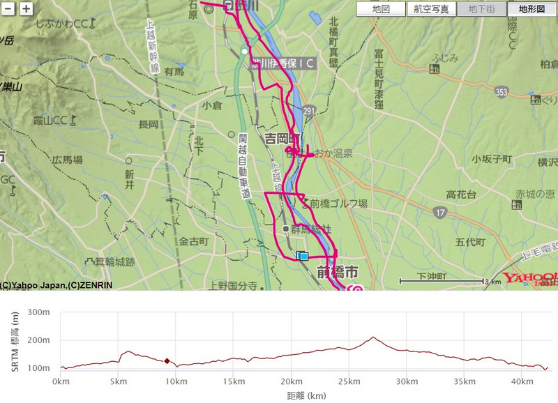 前橋・渋川シティマラソン(群馬県、2017年)~強風と闘いながら走る