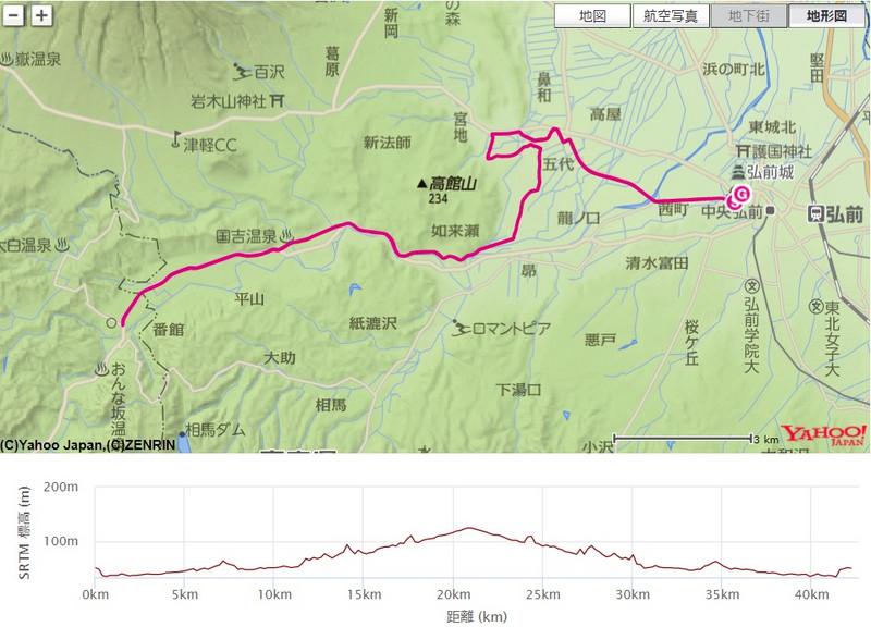 弘前・白神アップルマラソン2017