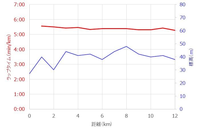 ワラーチで12km走~筑後川マラソンに思いを寄せて
