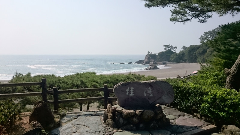 四万十川桜マラソンの後は、龍馬に逢いに桂浜へ
