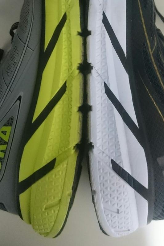 ホカオネオネの耐久性~10回のフルマラソンで、どのくらい劣化するか?