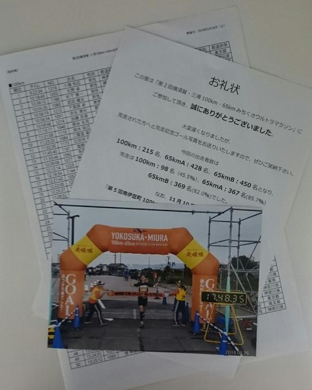 横須賀・三浦100kmみちくさウルトラマラソンの完走率は45.5%