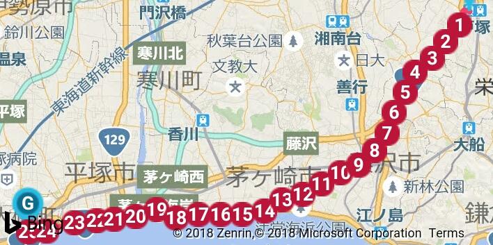 箱根3区の風景