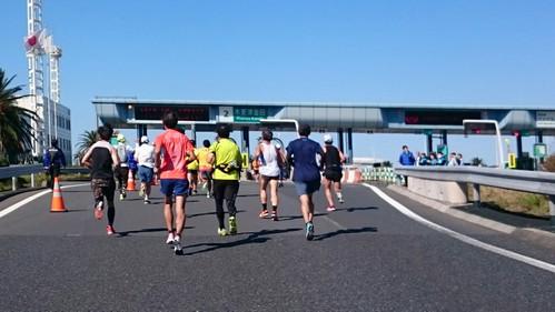 ちばアクアラインマラソン2018