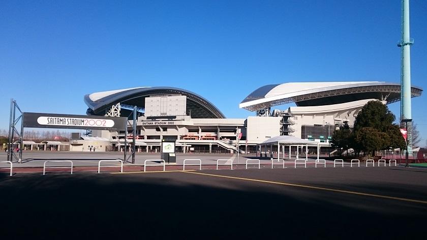埼玉スタジアム2002で駅伝