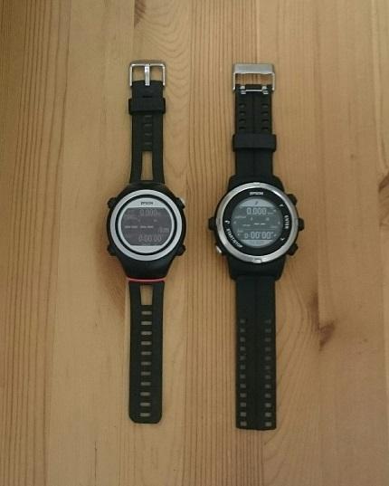 EPSON Wristable GPS J-350B/F