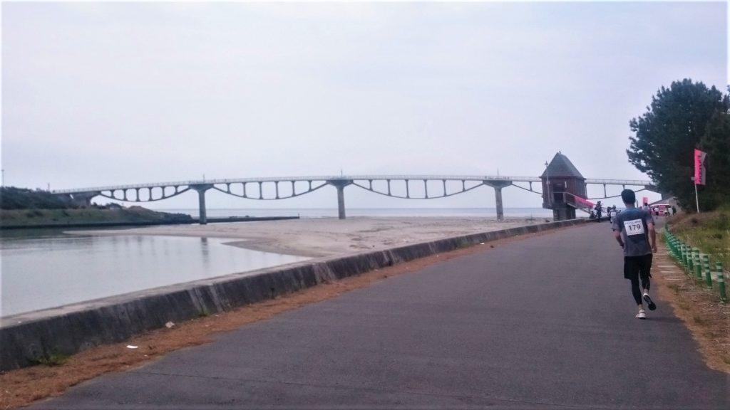 掛川・新茶マラソン2019 潮騒橋