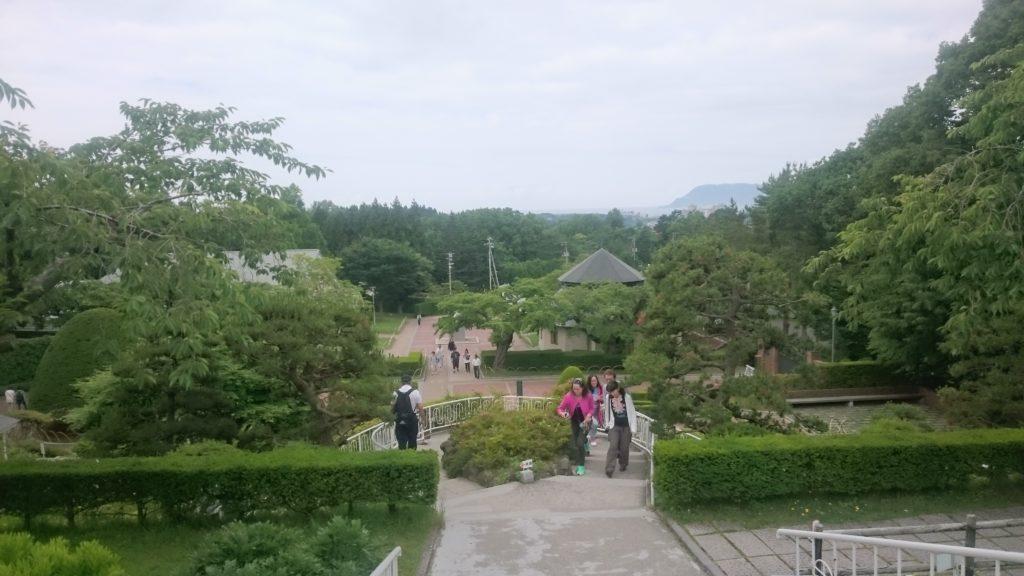 函館マラソンの翌日はトラピスチヌ修道院へ