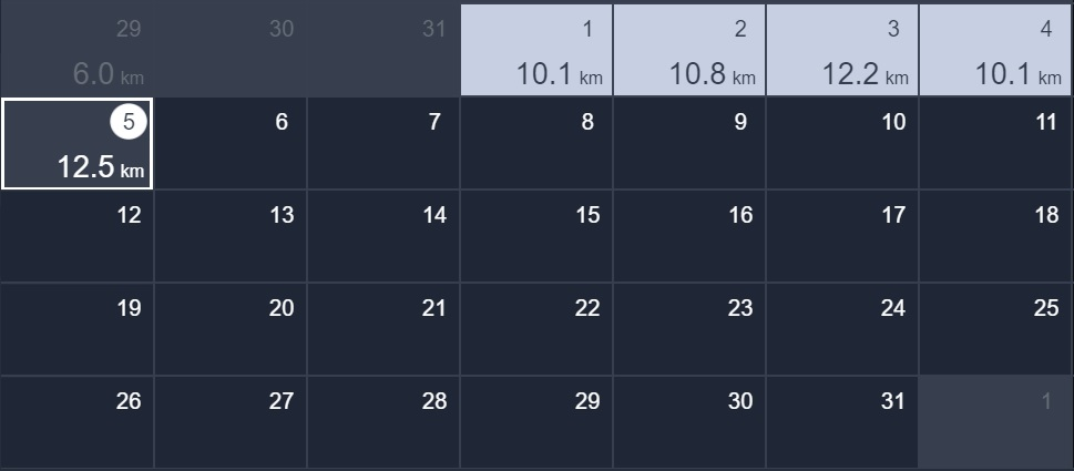 正月から5日間連続10kmラン&ウォーク