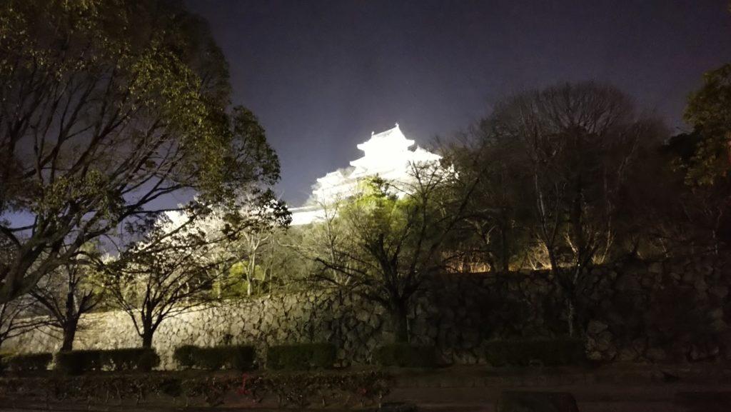 姫路城を北側から