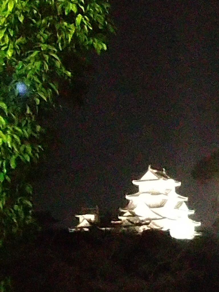 姫路城を西側から