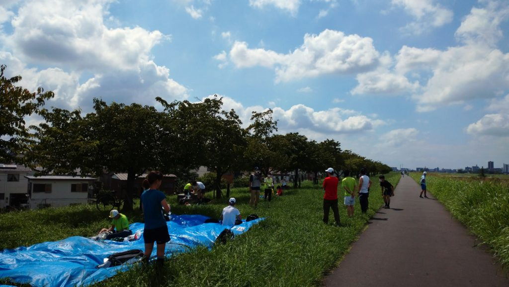 スポーツメイトラン市川江戸川河川敷マラソン大会(ハーフマラソン個人の部)